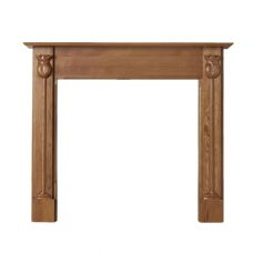 Tulip Oak Mantelpiece